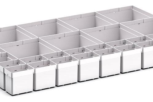 Cubio Plastic Box Divider Kit 30 Comp 675 x 400 x 68mm