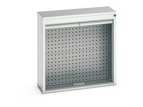Verso Roller Shutter Wall Cupboard 800 x 300 x 800mm