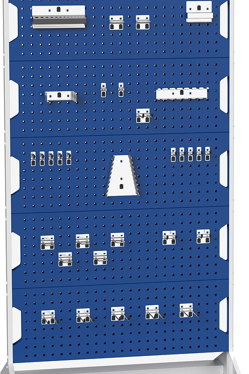 Perfo Panel Rack Double Sided & Hook Kit 1000 x 550 x 1775mm