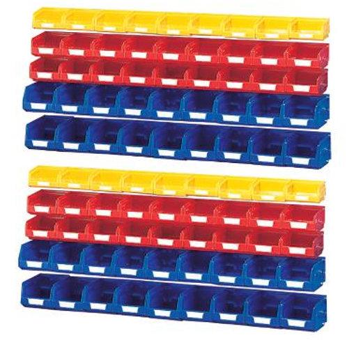Plastic Bin Kit for 2Mtr - Pack 90