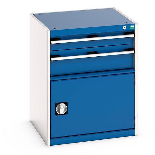 Cubio Drawer-Door Cabinet 650 x 650 x 800mm
