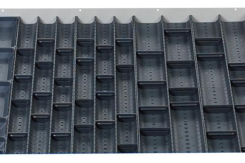 Cubio Trough Block Divider Kit 50 Compartment 675 x 625 x 28mm