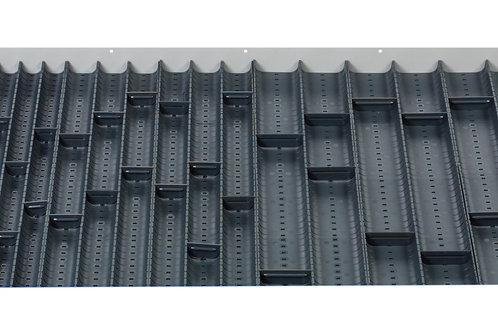 Cubio Trough Block Divider Kit 80 Compartment 925 x 625 x 28mm