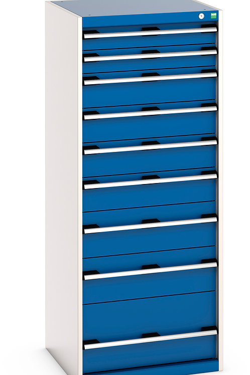 Cubio Drawer Cabinet 650 x 650 x 1600mm