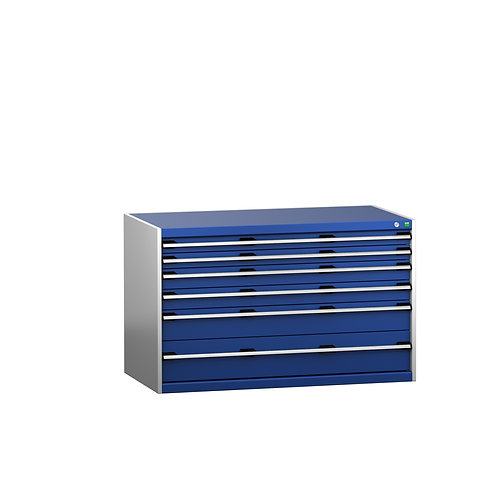 Cubio Drawer Cabinet 1300 x 750 x 800mm