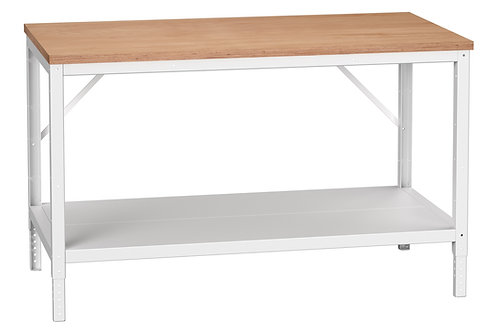 Verso Adj. Height Bench Multiplex 1500 x 800 x 780mm