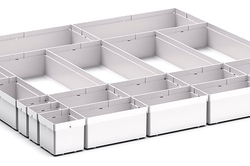Cubio Plastic Box Divider Kit 20 Comp 675 x 675 x 68mm
