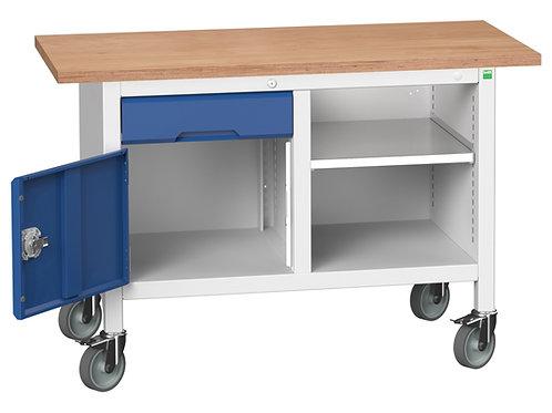 Verso Mobile Storage Bench (Mpx) 1250 x 600 x 830mm