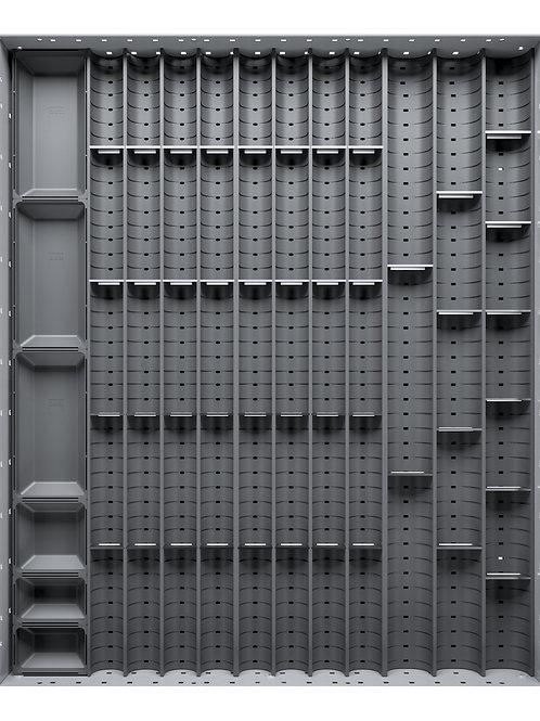 Cubio Trough Block Divider Kit 56 Compartment 525 x 625 x 28mm