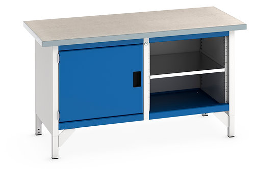Cubio Storage Bench (Lino) 1500 x 750 x 840mm