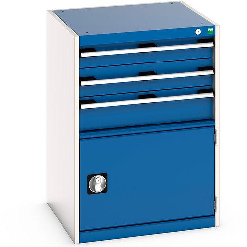 Cubio Drawer-Door Cabinet 650 x 650 x 900mm