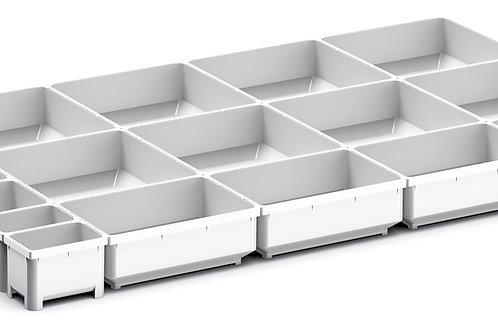 Cubio Plastic Box Divider Kit 17 Comp 675 x 400 x 50mm