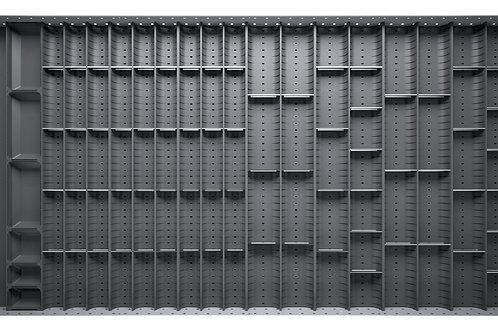 Cubio Trough Block Divider Kit 95 Compartment 1175 x 625 x 28mm