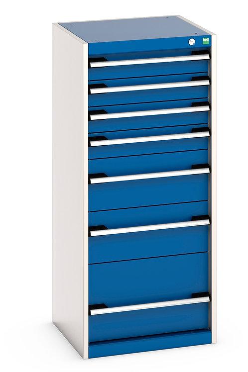 Cubio Drawer Cabinet 525 x 525 x 1200mm