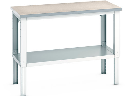 Cubio Framework Bench Adj Height (Lino) 1500 x 750 x 1140mm