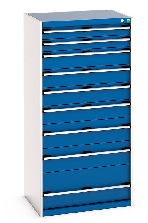Cubio Drawer Cabinet 800 x 650 x 1600mm