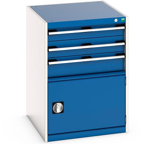 Cubio Drawer-Door Cabinet 650 x 750 x 900mm
