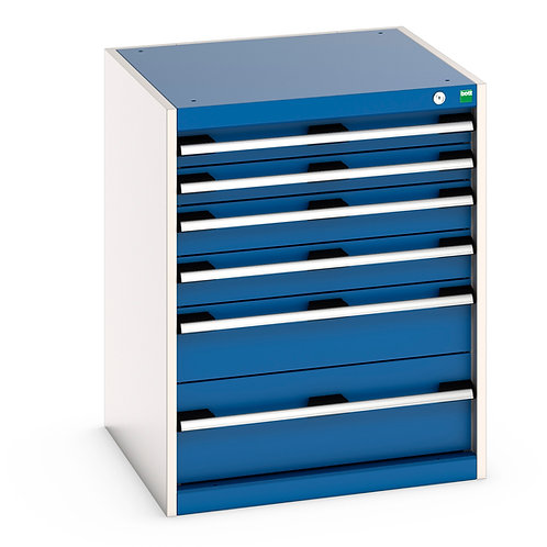 Cubio Drawer Cabinet 650 x 650 x 800mm