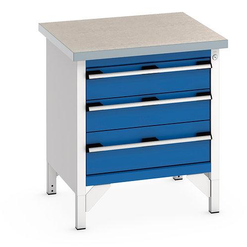 Cubio Storage Bench (Lino) 750 x 750 x 840mm