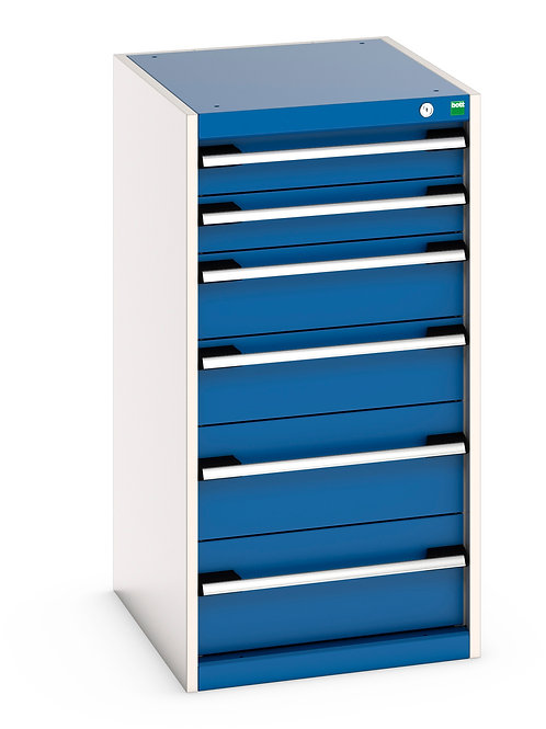 Cubio Drawer Cabinet 525 x 650 x 1000mm