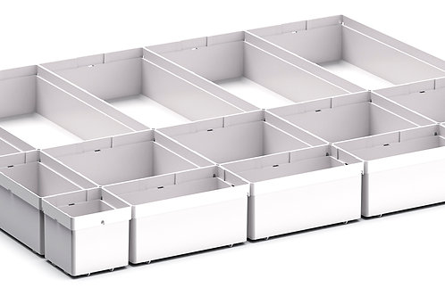 Cubio Plastic Box Divider Kit 16 Comp 675 x 525 x 68mm