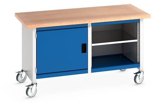 Cubio Mobile Storage Bench (Multiplex) 1500 x 750 x 840mm