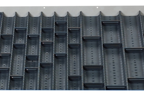 Cubio Trough Block Divider Kit 40 Compartment 675 x 525 x 28mm