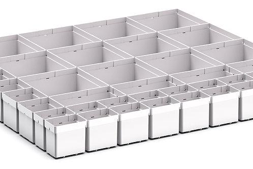 Cubio Plastic Box Divider Kit 41 Comp 675 x 675 x 68mm
