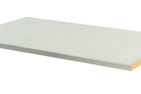 Cubio Steel Clad Worktop 1500 x 750 x 40mm