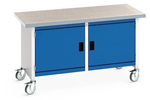 Cubio Mobile Storage Bench (Lino) 1500 x 750 x 840mm