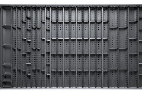 Cubio Trough Block Divider Kit 105 Compartment 1175 x 625 x 28mm