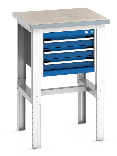 Cubio Framework Bench (Lino) 750 x 750 x 1140mm