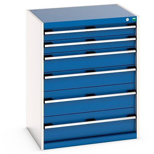 Cubio Drawer Cabinet 800 x 650 x 1000mm