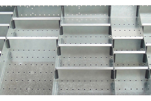 Cubio Adj Metal Divider Kit 24 Comp 1175 x 625 x 127mm