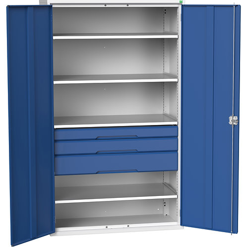 Verso Kitted Cupboard 1300 x 550 x 2000mm