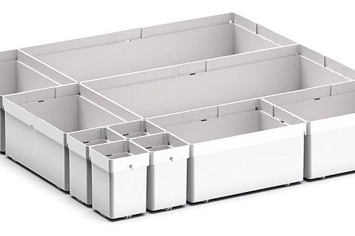 Cubio Plastic Box Divider Kit 10 Comp 400 x 400 x 68mm
