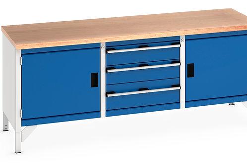 Cubio Storage Bench (Multiplex) 2000 x 750 x 840mm