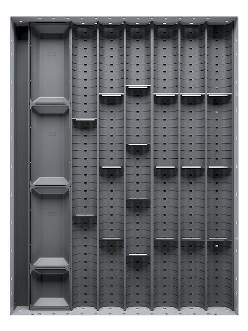 Cubio Trough Block Divider Kit 24 Compartment 400 x 525 x 28mm