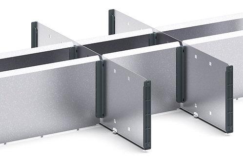 Verso Adjustable Metal Divider Kit 675 x 430 x 127mm
