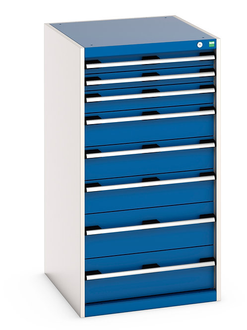 Cubio Drawer Cabinet 650 x 650 x 1200mm