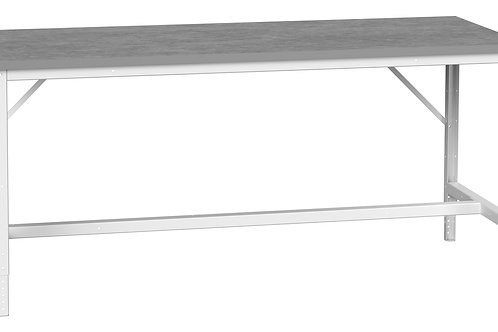 Verso Adj. Height Bench Lino 2000 x 800 x 930mm