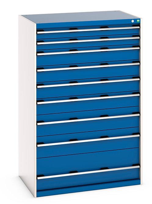Cubio Drawer Cabinet 1050 x 750 x 1600mm