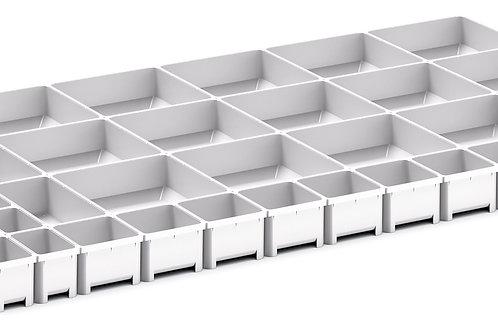 Cubio Plastic Box Divider Kit 43 Comp 925 x 525 x 50mm