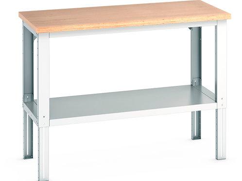 Cubio Framework Bench Adj Height (Multiplex) 1500 x 750 x 1140mm