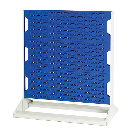 Louvre Panel Rack Double Sided 1000 x 550 x 1125mm