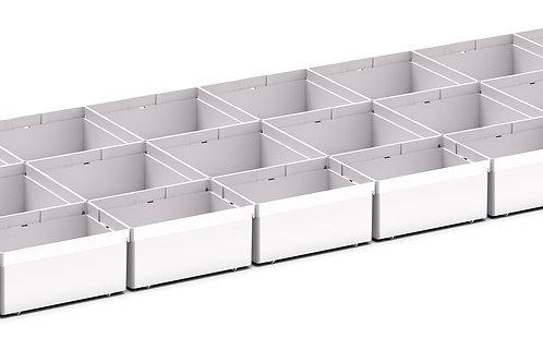 Cubio Plastic Box Divider Kit 31 Comp 1175 x 400 x 68mm