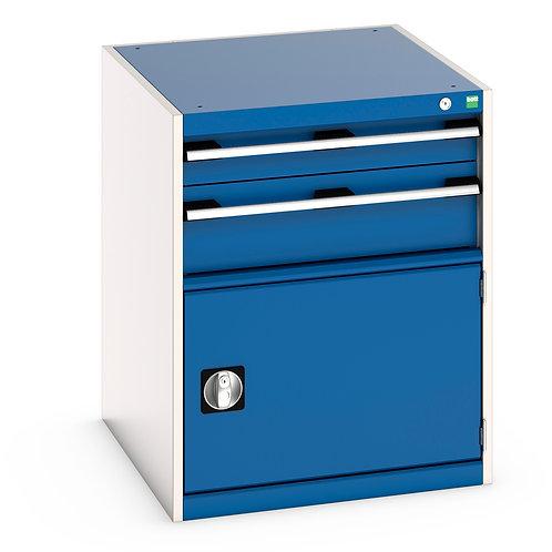 Cubio Drawer-Door Cabinet 650 x 750 x 800mm