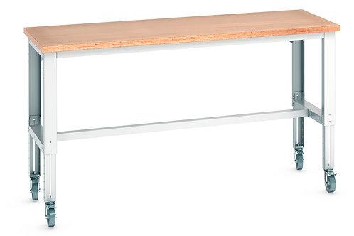 Cubio Mob Frame Bench Adj Height (Multiplex) 2000 x 750 x 1140mm