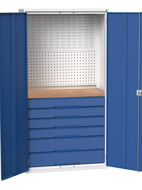 Verso Kitted Cupboard 1050 x 550 x 2000mm