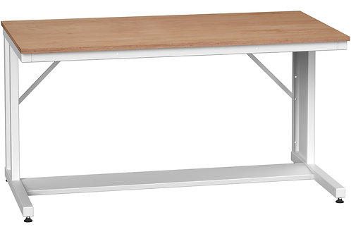 Verso Cantilever Bench Multiplex 1500 x 800 x 780mm